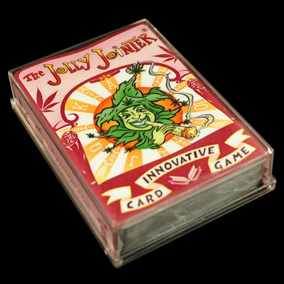 The Jolly Jointer Playing Card Deck Red